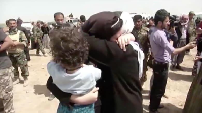 بالفيديو.. داعش يطلق سراح 216 محتجزا أيزيديا في كركوك