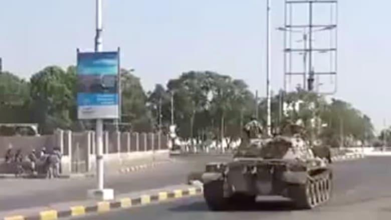 مشاهد من قلب ساحة القتال في عدن