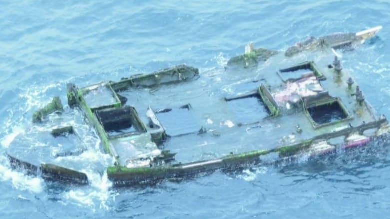 آثار تسونامي اليابان 2011 تظهر على متن قارب على سواحل أمريكا