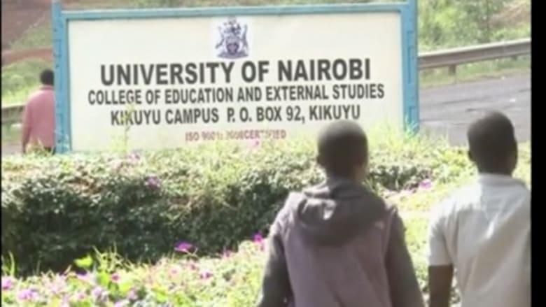 بالفيديو.. مقتل طالب وجرح العشرات بانفجار هز جامعة كينية