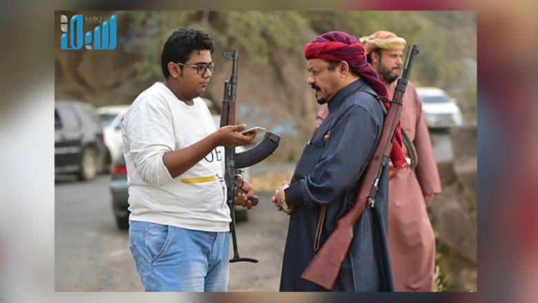 متطوعون لتأمين حدود السعودية مع اليمن في جبال فيفا