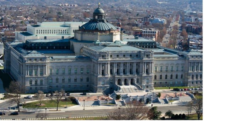 مكتبة الكونغرس بواشنطن
