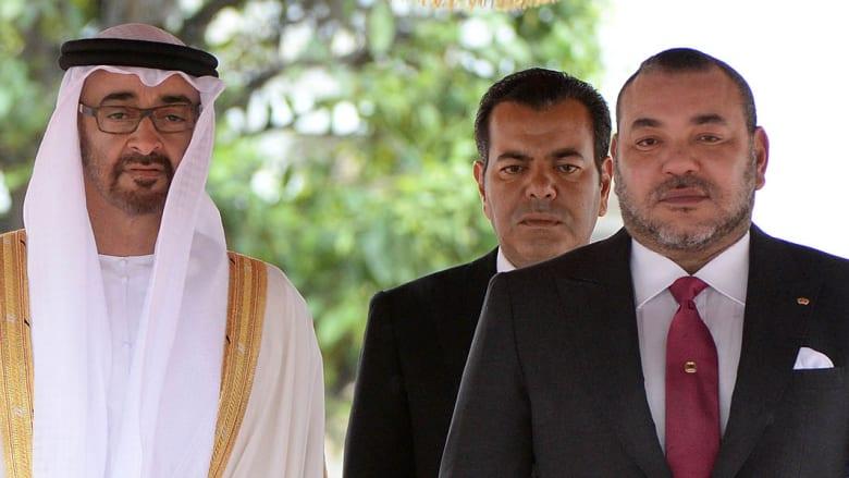 """العاهل المغربي في الإمارات لمزيد من توطيد العلاقات بين الدولتين المشاركتين في """"عاصفة الحزم"""""""
