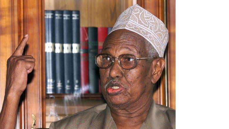 الرئيس الجيبوتي حسن جوليد أبتيدون، في صورة التقطت في 10 أبريل/ نيسان 1999