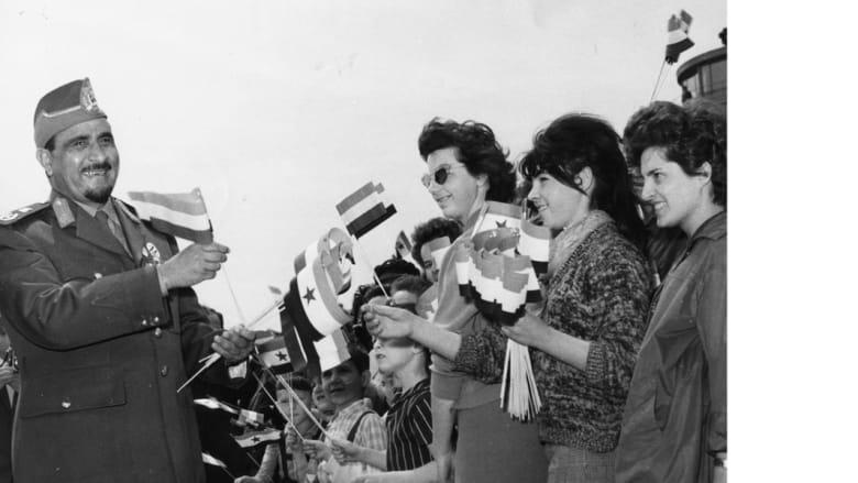 عبد الله السلال، أول رئيس لليمن، خلال زيارة قام بها إلى هنغاريا 26 مايو/ أيار 1964