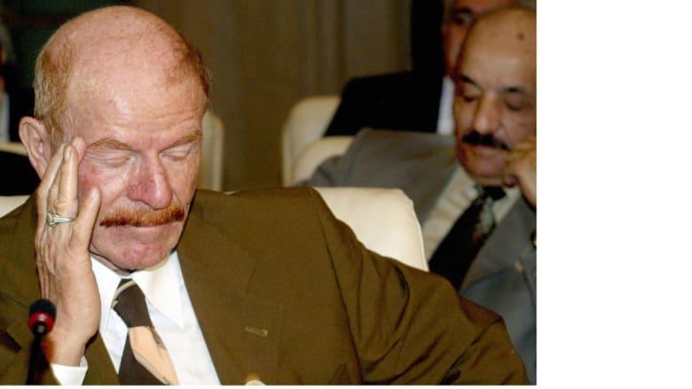 الدوري في شرم الشيخ المصرية، خلال مؤتمر القمة 1 مارس/ آذار 2003