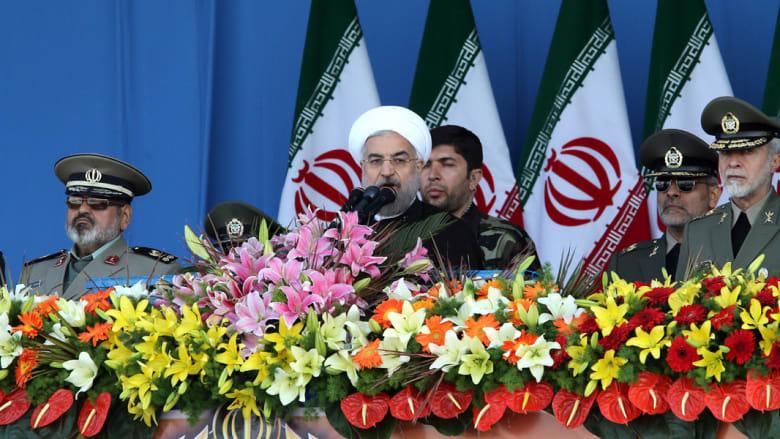 الرئيس الإيراني يشهد العرض