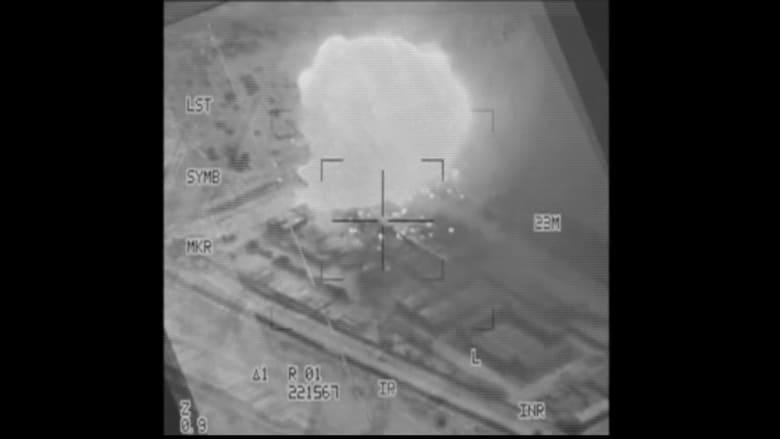 شاهد.. انفجارات غارات التحالف في اليمن ومقتل سعودي على يد الحوثيين