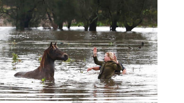 فيضانات أستراليا