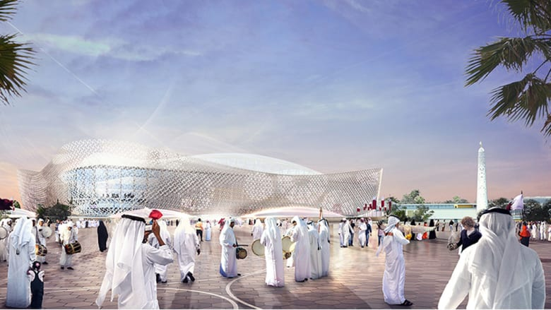 تصاميم استاد الريان في قطر
