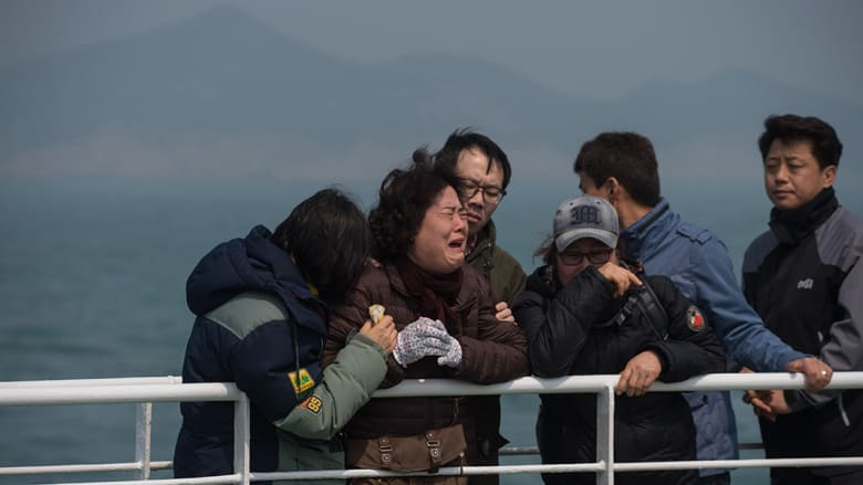 السجن المؤبد لقائد العبارة الكورية الجنوبية بعد غرقها ومقتل أكثر من 300 شخص العام الماضي