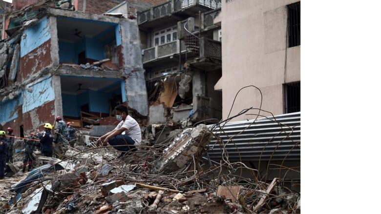 نيبال .. زلزال مدمر