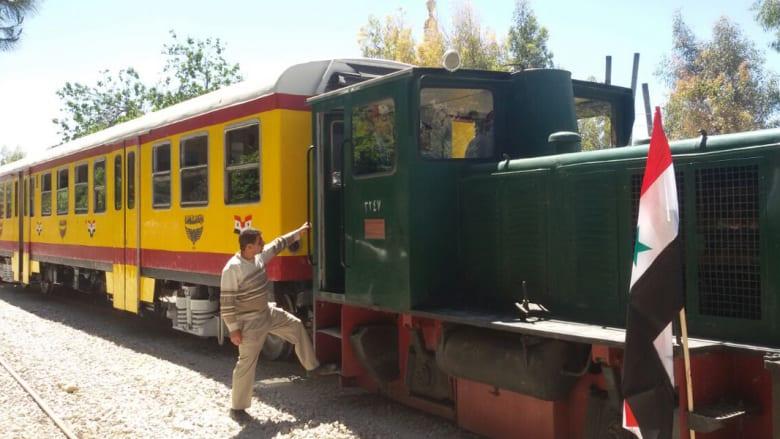 قطار النزهات يعود للانطلاق بدمشق... ويتوقف عند حدود المناطق الساخنة