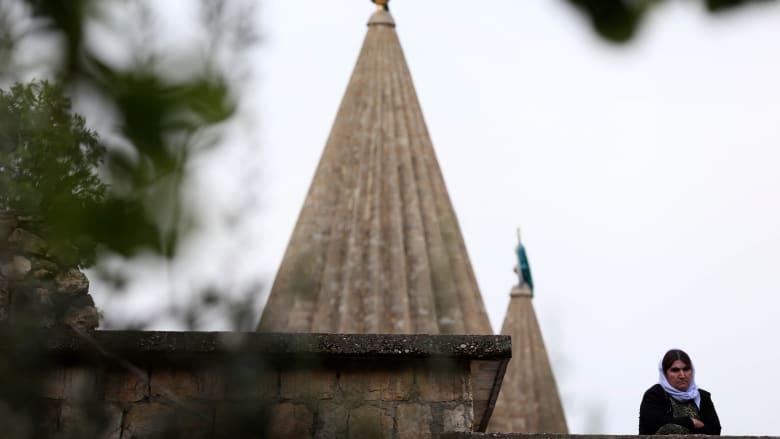 معبد لاليش من الخارج