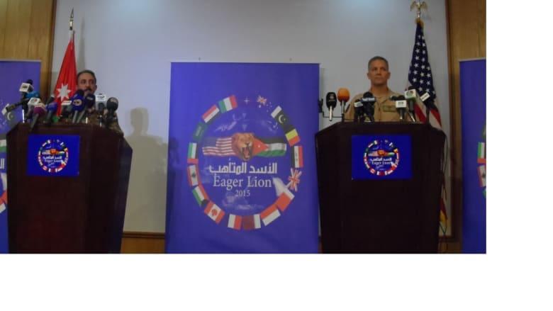 """الأردن: طائرة B52 واختبار السيارات المفخخة في تمرين """"الأسد المتأهب 2015"""""""