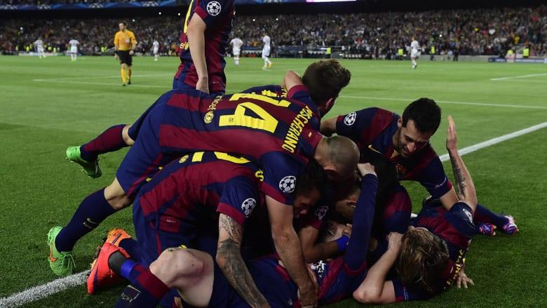 بالصور.. ثلاثية لبرشلونة تطيح ببايرن ميونخ بذهاب نصف نهائي أبطال أوروبا