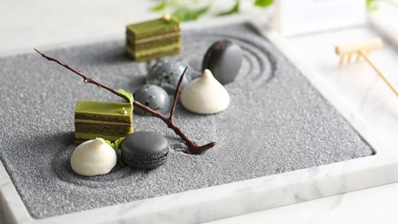 بالصور..أطباق رائعة مستوحاة من المساحات الخضراء والحدائق اليابانية