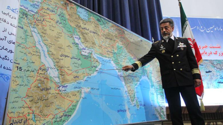 """إيران تحذر من """"نيران لا يمكن لأمريكا والسعودية السيطرة عليها"""" بحال تفتش سفينتها المتجهة لليمن وتشير لمواجهة بعرض البحر"""