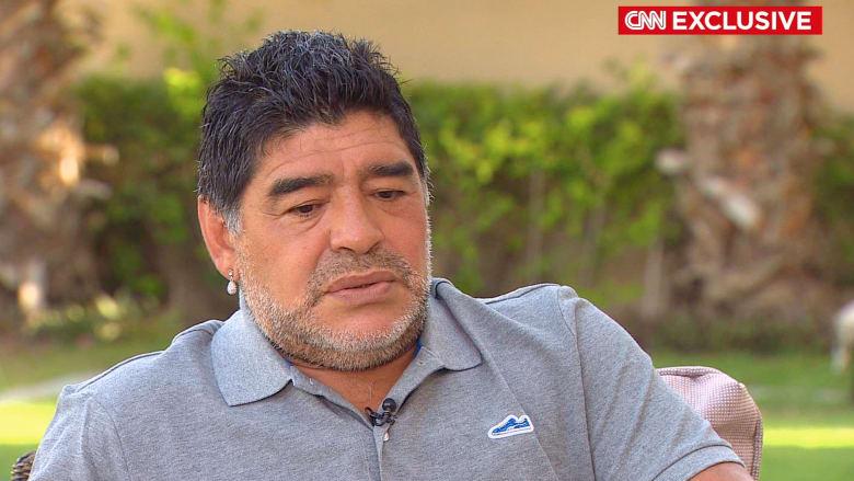 مارادونا لـCNN: بلاتر جاهل جعل الفيفا مافيا وشوّه كرة القدم.. والأمير علي قادر على المواجهة