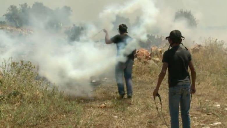 """كاميرا CNN ترصد المواجهات بين الفلسطينيين والقوات الإسرائيلية في ذكرى""""النكبة"""""""