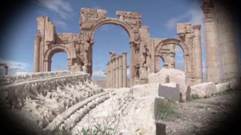 بالفيديو.. تدمر.. معبر الحضارات إلى قلب سوريا تواجه الموت تحت قبضة داعش