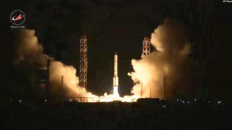 بالفيديو.. للمرة الثانية خروج مركبة فضائية روسية عن مسارها