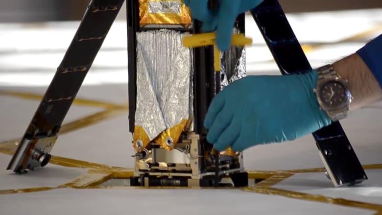 بالفيديو.. مركبة فضائية تعمل على أشعة الشمس