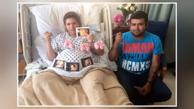 ولادة غير متوقعة.. ثلاثة توائم وشقيقتان ملتصقتان ببعضهما!