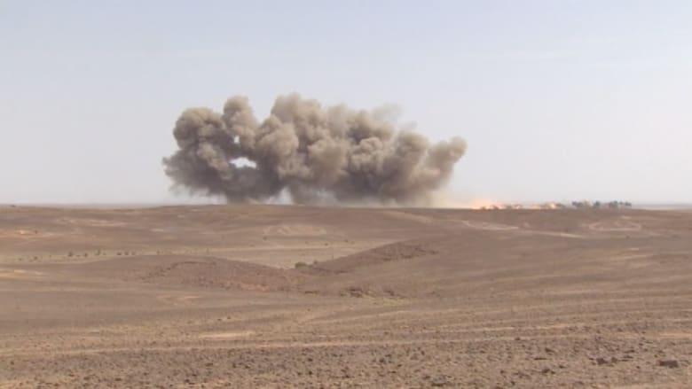 """بالفيديو.. تدريبات """"الأسد المتأهب"""" بين الوعيد والقلق من تمدد """"داعش"""" باتجاه الأردن"""