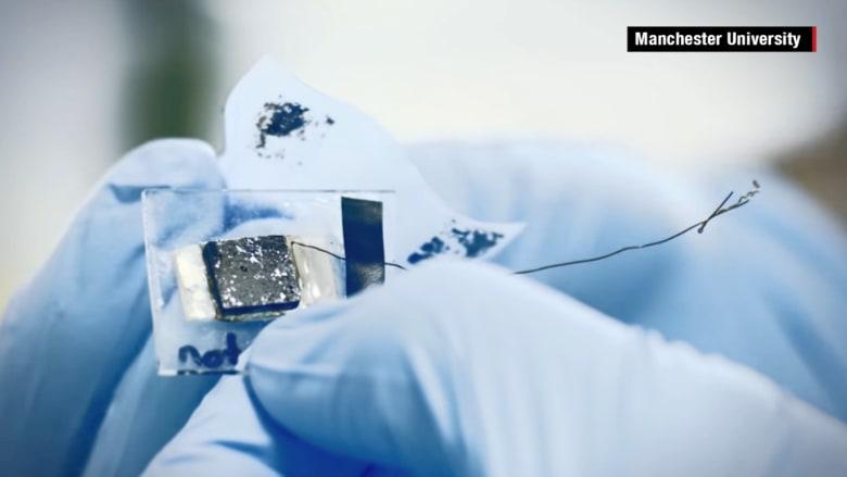الجرافين.. من أقوى المواد على سطح الأرض بإمكانها تحويل الهيدروجين في الهواء إلى كهرباء