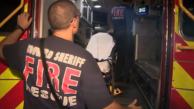 بالفيديو.. امرأة تلد طفلها.. في شاحنة الإطفاء الجديدة