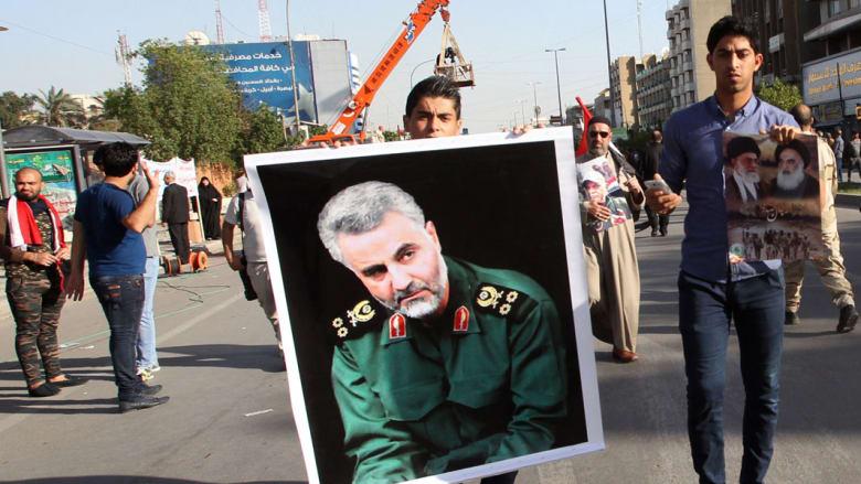 """قائد فيلق القدس يتهم أمريكا بعدم مواجهة """"داعش"""" في العراق"""