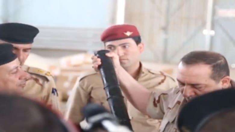 شاهد.. أسلحة من التحالف الدولي للقوات العراقية تحضيرا لمعركة الموصل