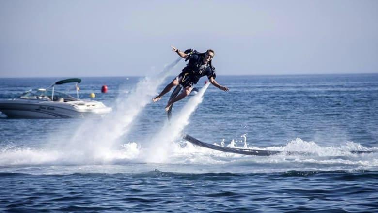 يخوت طائرة وألعاب مائية فاخرة..للأثرياء فقط