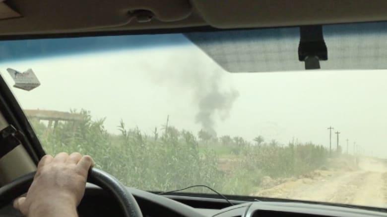 بالفيديو.. بعد استعادة مدينة سيد غريب طاقم CNN يشهد ماخلفه داعش ورائه