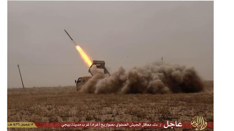 """معارك """"داعش"""" في بيجي"""