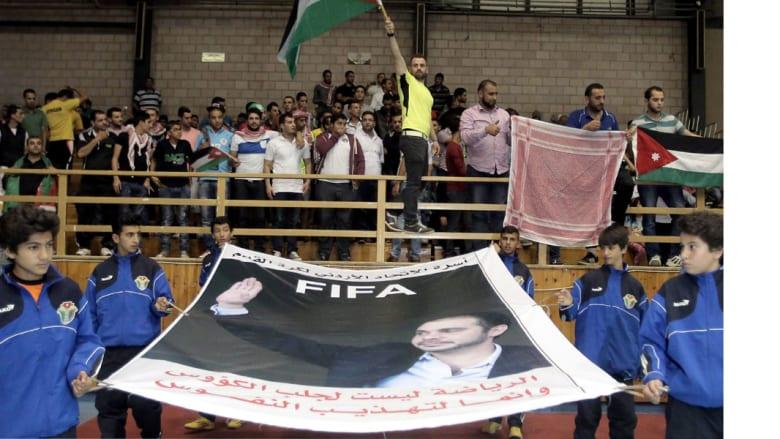 """شكر الملك """"وأخته هيا"""" ومسؤولين إماراتيين.. الأمير علي: الفلسطينيون شعبنا والرجوب ساندنا حسب كلامه"""