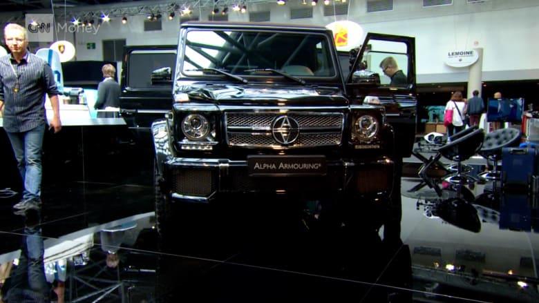 """إطلاق """"نموذج مدرع"""" لسيارة مرسيدس G63 بـ 1.5 مليون دولار!"""