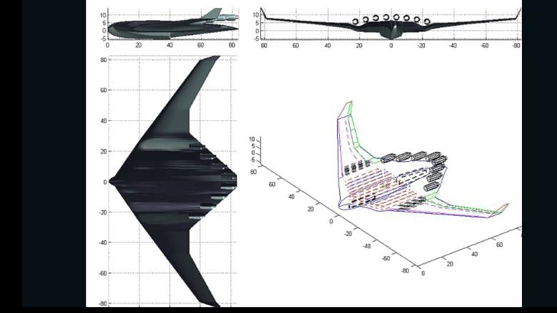 التصميم الذي يصف هيكل الطائرة المائية