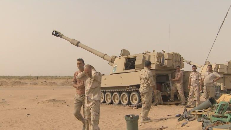 بالفيديو.. القوات العراقية: لا نريد تدريبات أمريكية بل نحتاج الأسلحة