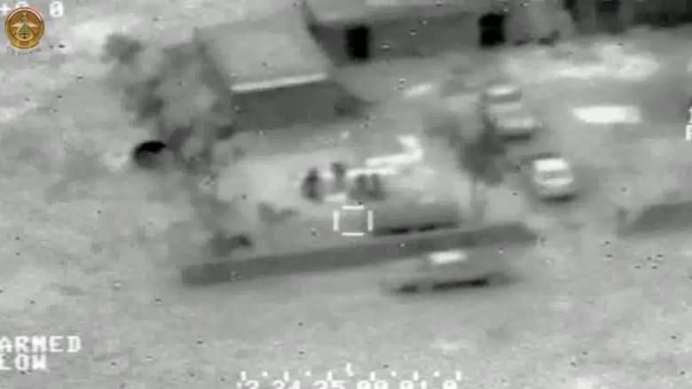 شاهد.. قوات الجو العراقية تقصف مواقع لداعش ومراكز إعداد سيارات مفخخة