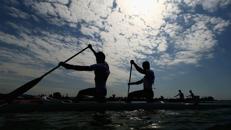 التجديف بالقوارب في دورة الألعاب الأوروبية