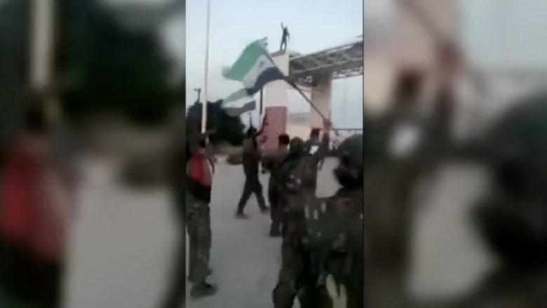 بالفيديو.. الأكراد يسيطرون على تل أبيض ويضيقون الخناق على داعش