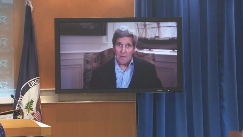 جون كيري: نحن على يقين تام أن هذه الهجمات قد نُفذت من قبل النظام السوري