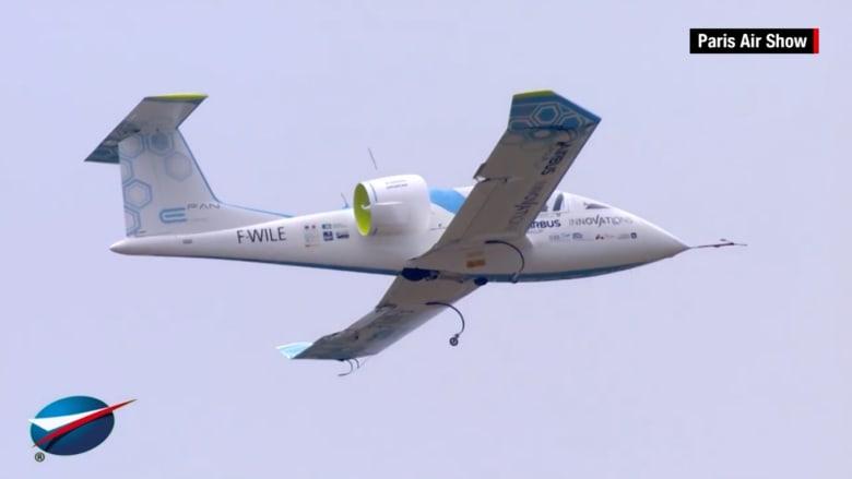 شاهد.. أول طائرة إلكترونية بالكامل في العالم