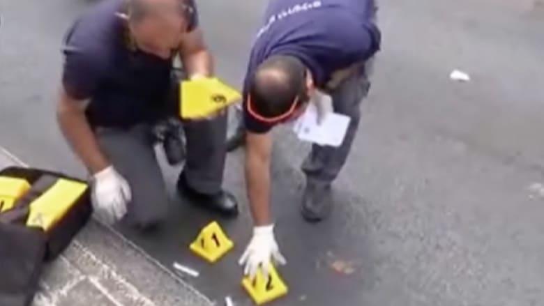 بالفيديو.. طعن شرطي إسرائيلي على باب القدس العتيقة