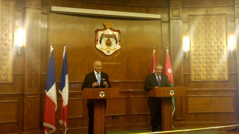 فابيوس يثق بالقضاء الأردني في محاكمة مواطن بقضية الهجوم على مطعم يهودي بباريس
