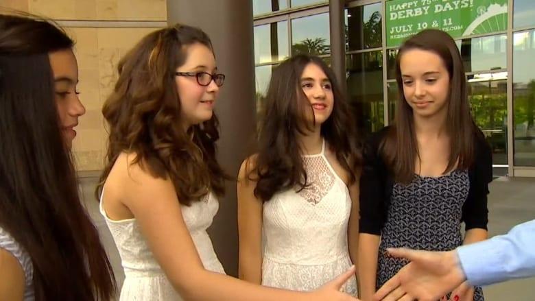 بالفيديو.. فتيات صغيرات ينقذن حياة صديقتهن بعد سكتة قلبية