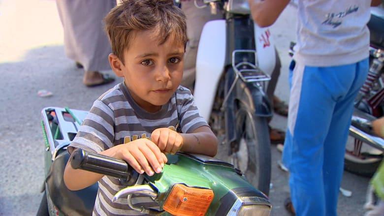 حصريا على CNN: داعش حوّل تل أبيض لحقل ألغام.. والأمل يختلط بالخوف في العيون
