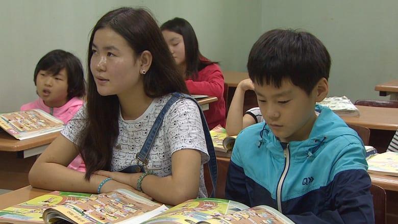 """شاهد: """"المنشقون الصغار"""" عن بيونغ يانغ بمدارس سيؤول بعد رحلة فرار مضنية"""